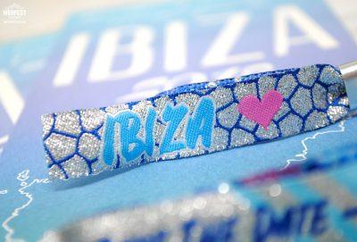 ibiza wedding invites wristbands