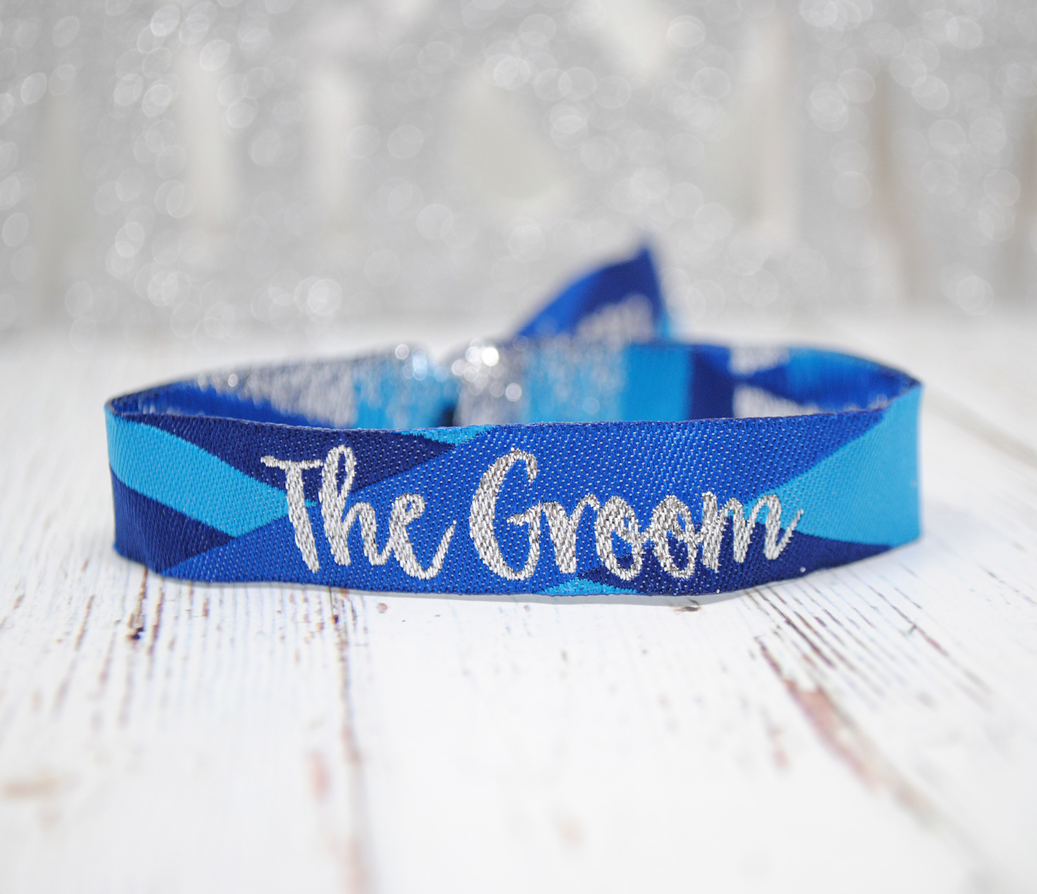 the groom wedding stag do party wristband