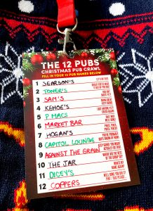 12 pubs christmas dublin pub crawl route