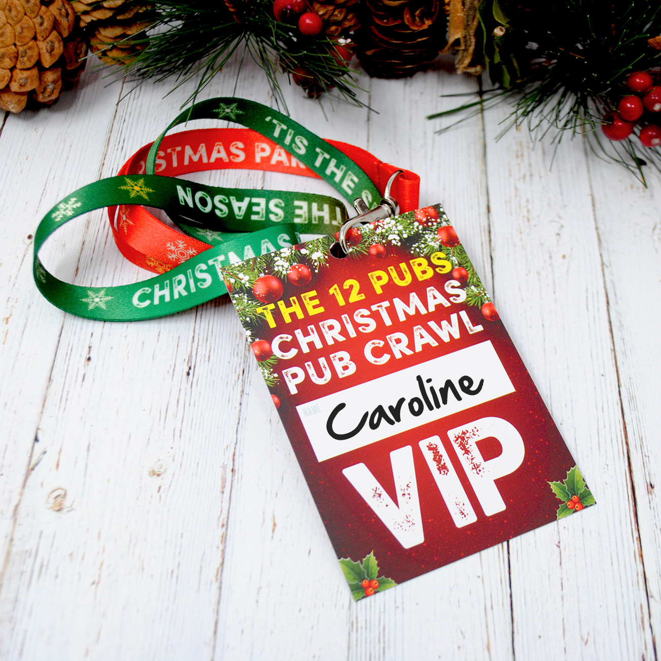 12 pubs christmas pub list guide lanyards