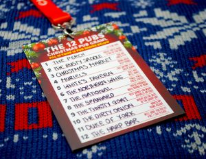 12 pubs of christmas belfast
