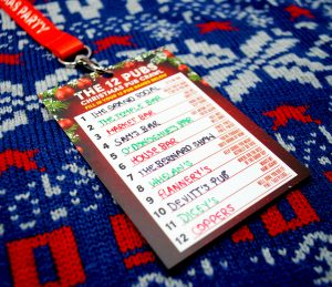 12 pubs of christmas dublin pubs route