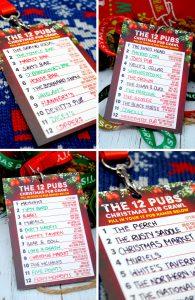 12 pubs of christmas pub list route guide