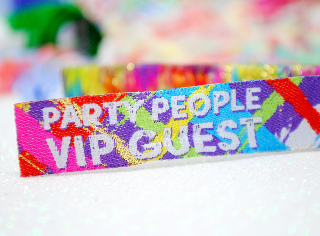 18th birthday party favor wristbands