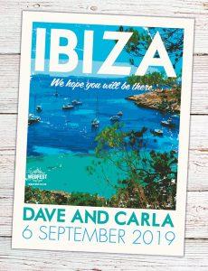 Ibiza Vintage Posters Postcards Wedding Invites