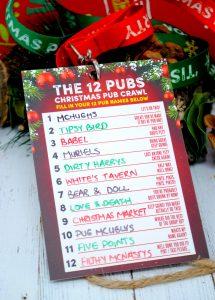 belfast 12 pubs christmas pub crawl guides