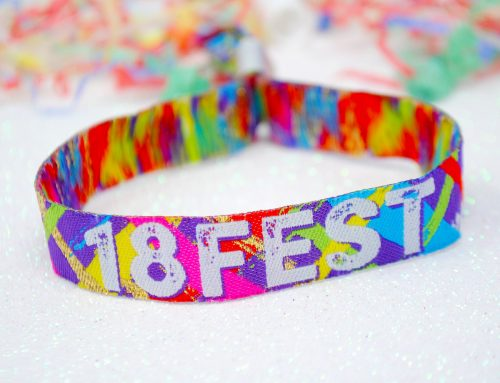 18th Birthday Party Festival Wristbands 18FEST