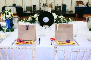festival wedding bride and groom wedding wristbands