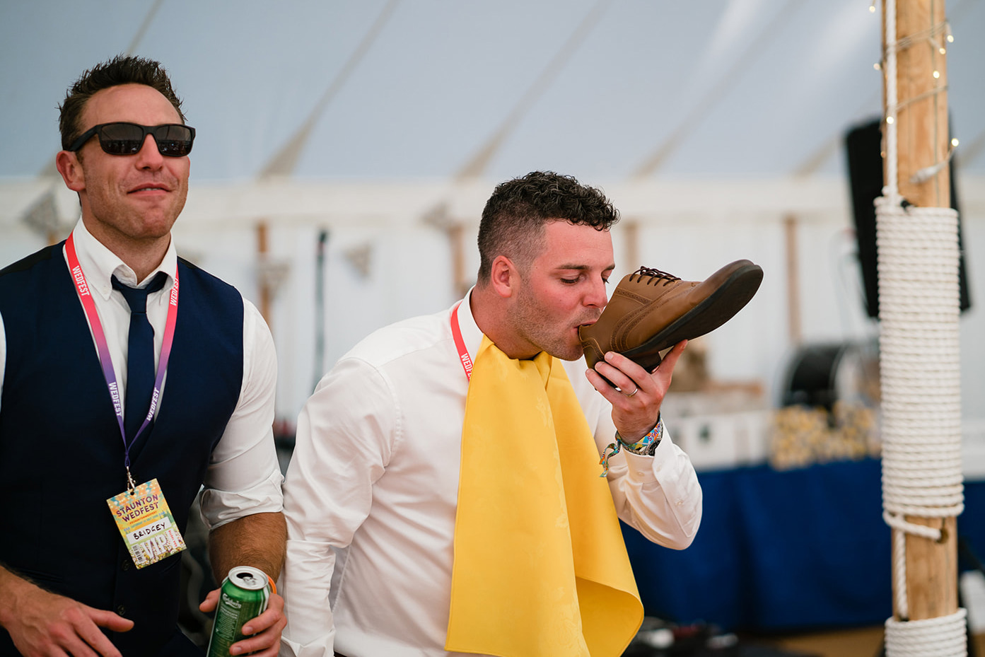 festival wedding drinking games