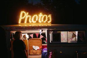 festival wedding photo booth