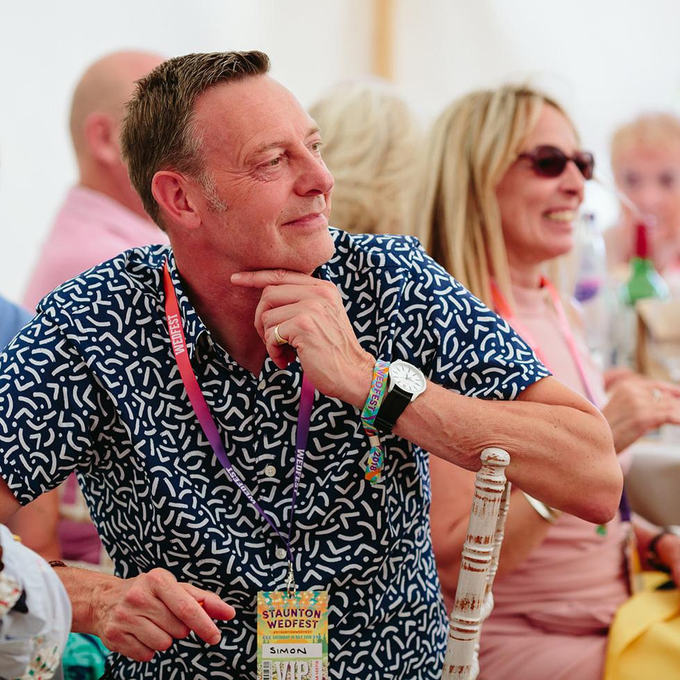 festival wedding style wristband lanyard favours