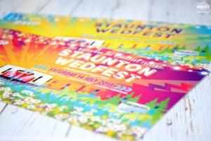 festival wedding ticket invitations