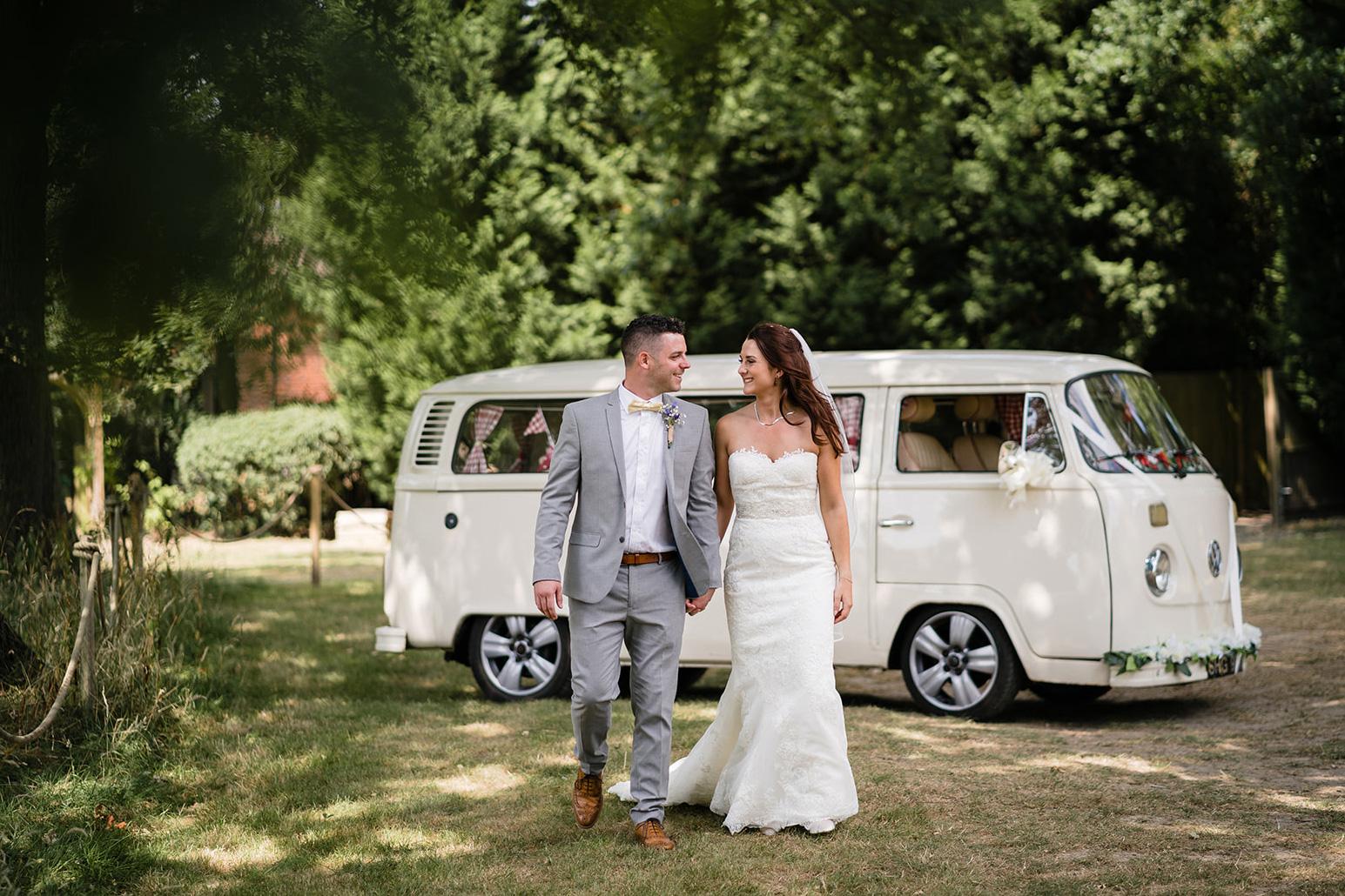 festival wedding vw camper bus