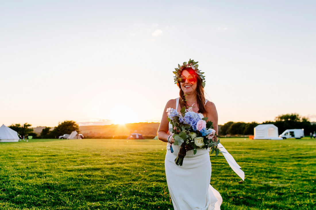 festival weddings boho bride