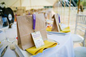 festival weddings vip place cards