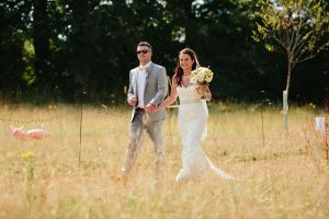 staunton wedfest festival bride and groom