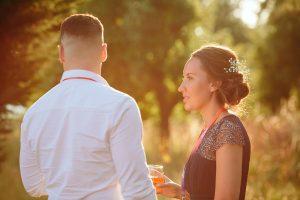 sunset festival wedding