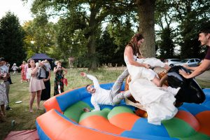 wedfest wedding bucking bronco