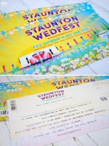 wedfest wedding stationery invitation tickets
