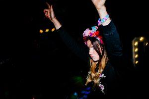 wedfest woven fabric custom festival wristbands