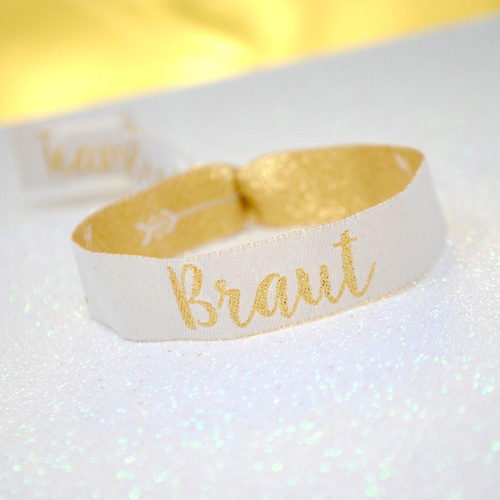 Armband Braut Hochzeit JGA Junggesellinnenabschied