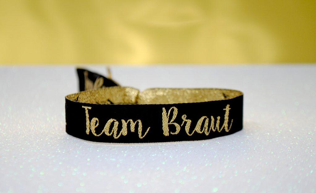 Team Braut Jga Armbänder Junggesellinnenabschied Wedfest
