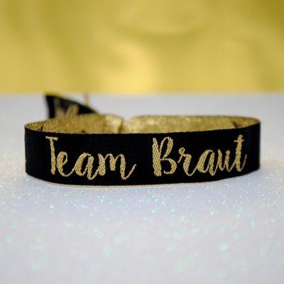 Team Braut Hen Party wristband Armbänder Junggesellinnenabschied