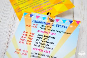 40th birthday festival party invites