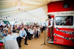 festival wedding double decker dence