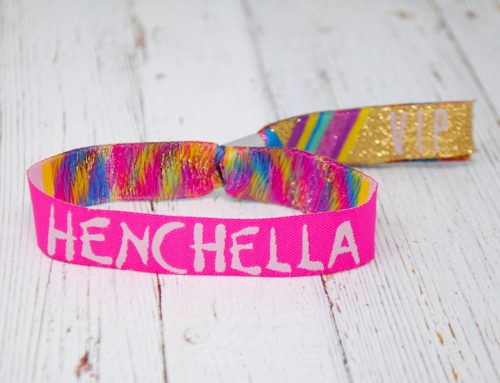 Henchella Festival Hen Do Wristbands