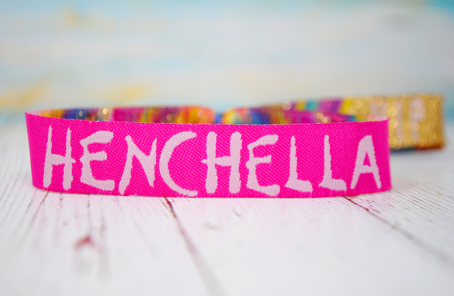 henchella wristbands hen party accessories