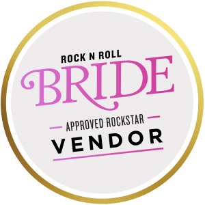rock n roll bride rockstar vendor