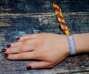 bachelorette party harry potter theme wristband