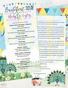 bridesfest wedding invitation same sex wedding
