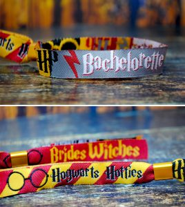 harry potter bachelorette party wristbands