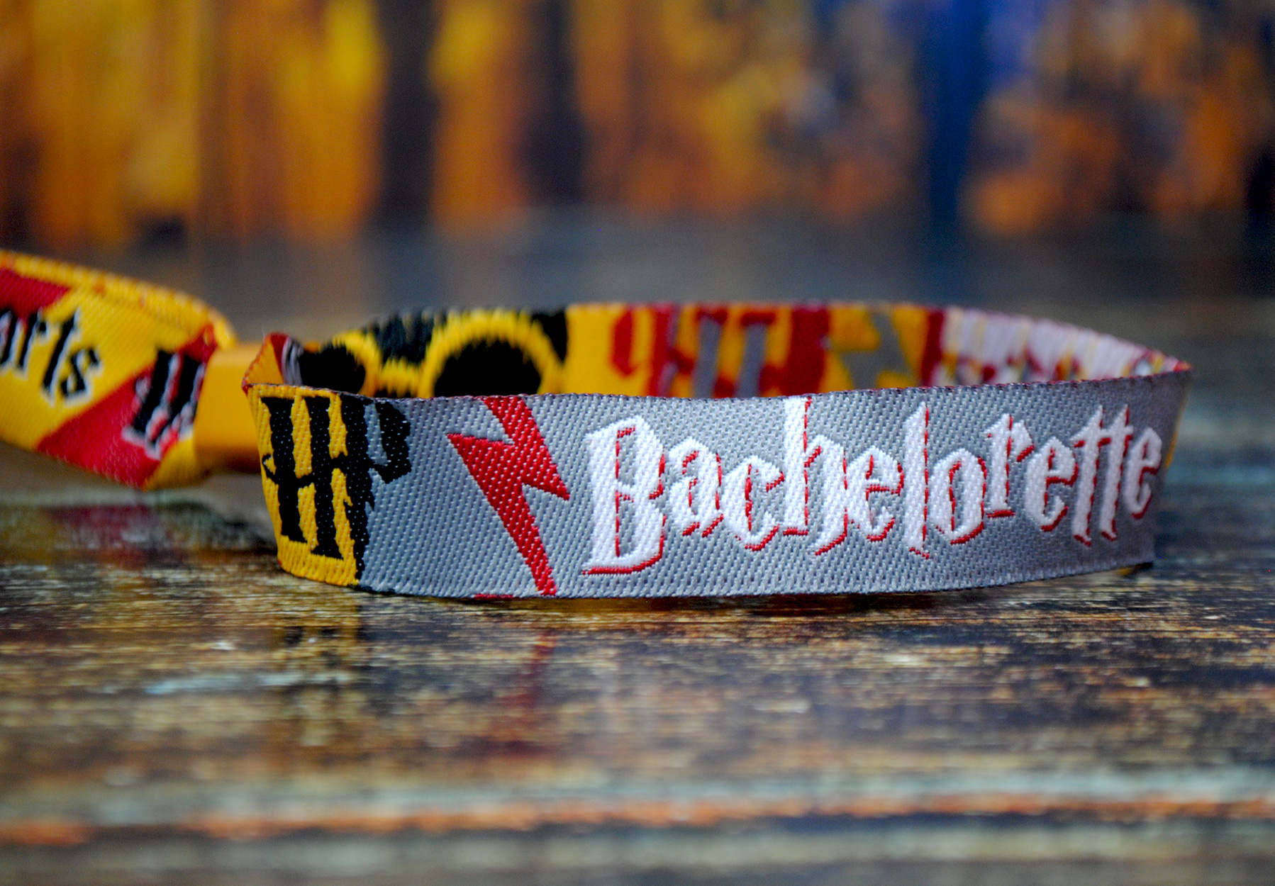 harry potter bachelorette party wristbands favors