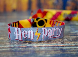 harry potter hen do party wristbands