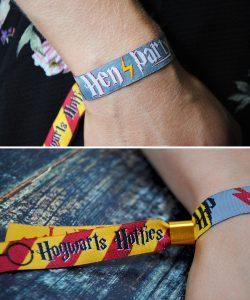 hogwarts hotties harry potter hen party wristbands