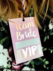 rose gold hen party team bride bachelorette party favours