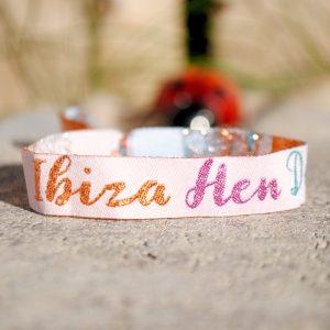 ibiza hen do party wristband
