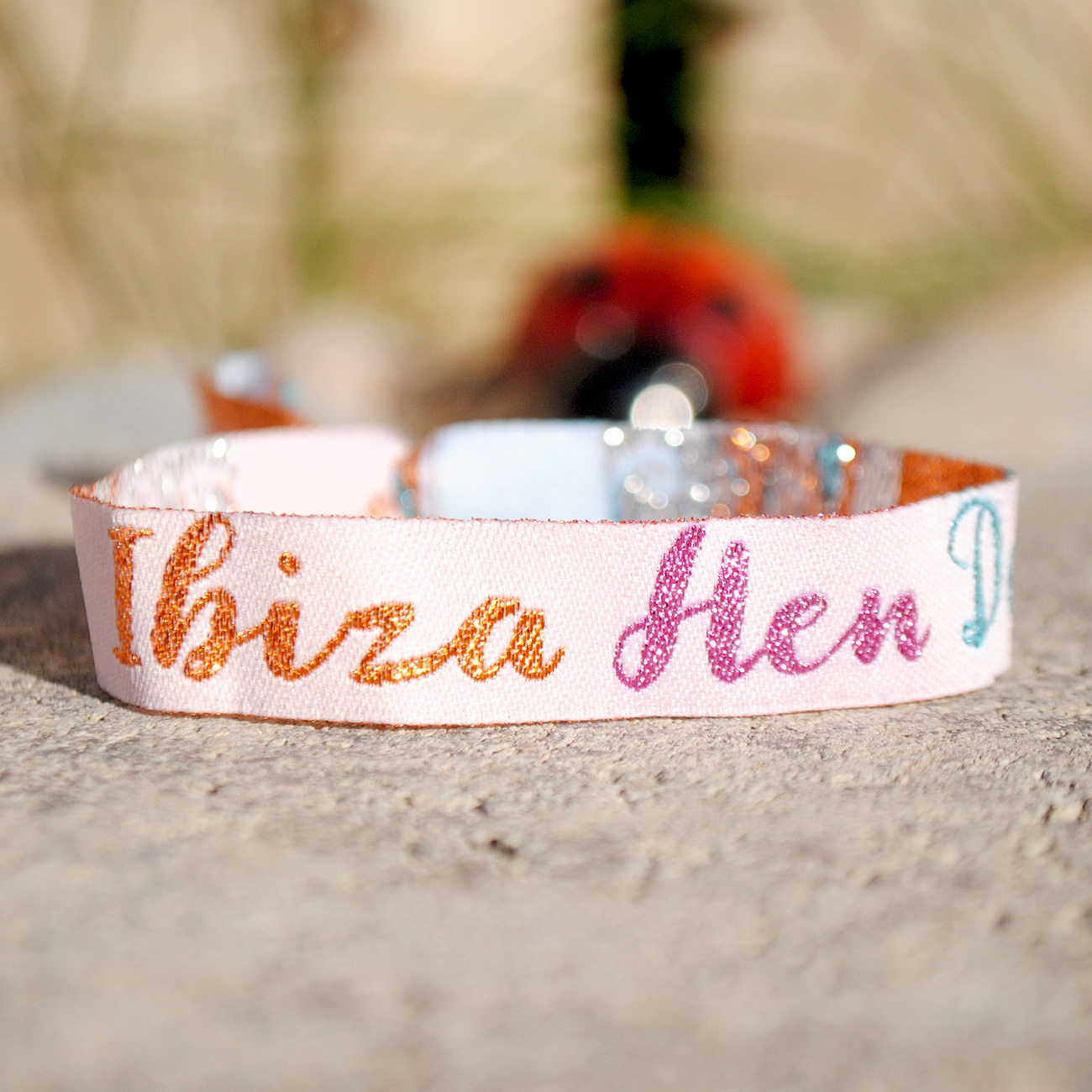 ibiza hen do party wristband