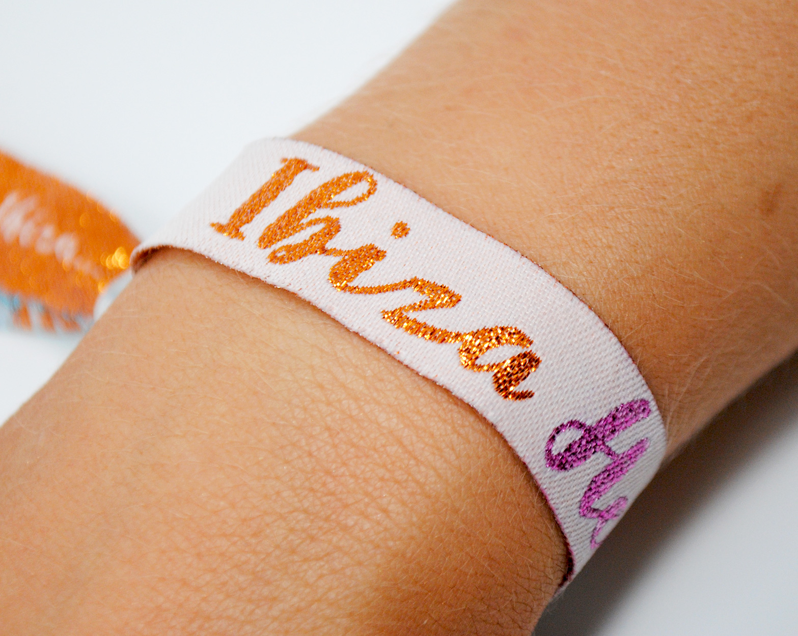 ibiza hen do party wristbands favours