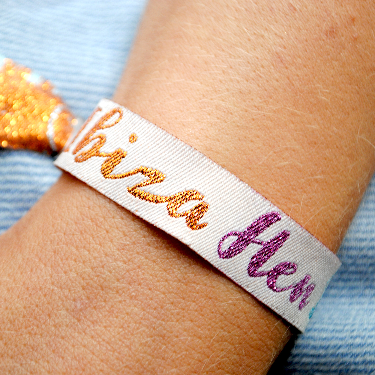 ibiza hen do wristbands favours