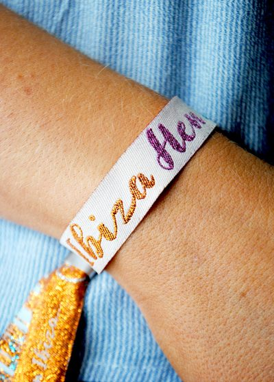 ibiza hen party ideas favours accessories wristbands