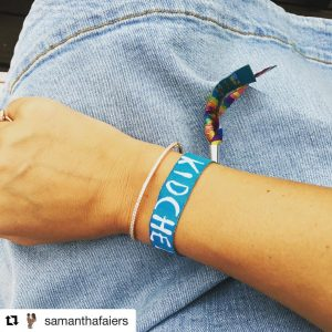 sam faiers kidchella childrens party wristbands