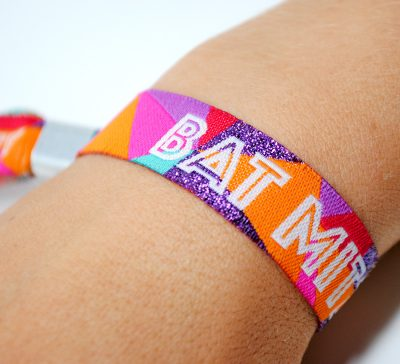 bat mitzvah party wristbands