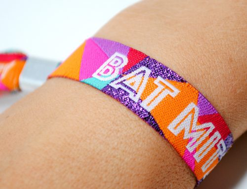 Bat Mitzvah Festival Party Wristbands