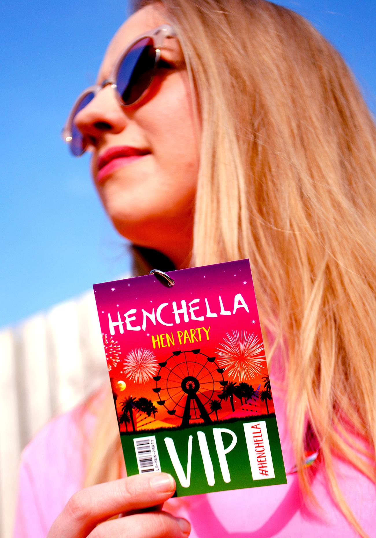 henchella festival hen do party