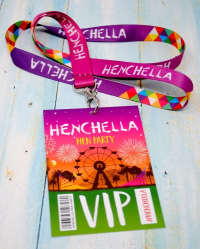 henchella festival hen party vip pass