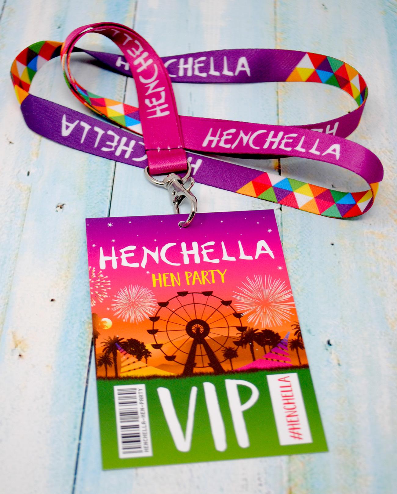 henchella festival hen party vip pass
